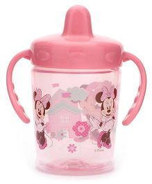 Disney International Mickey And Minnie Two Handle Non Spill Cup Pink - 250 ml