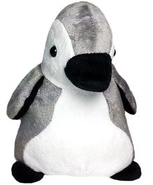 Soft Buddies Penguin Soft Toy Grey - Height 22 cm