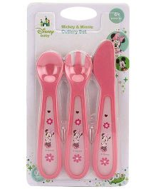 Disney International Mickey And Minnie Cutlery Set