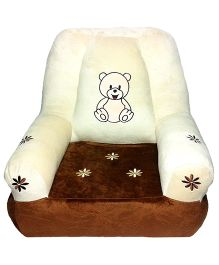 Soft Buddies Cushion Baby Chair Brown - Height 18 Inches