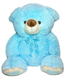 Soft Buddies Teddy Bear Blue Small - Height 12 Inches
