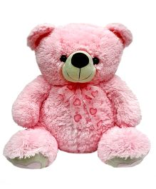 Soft Buddies Teddy Bear Soft Toy Pink - Height 12 Inches