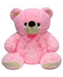 Soft Buddies Teddy Bear Soft Toy Pink - Height 24 Inches