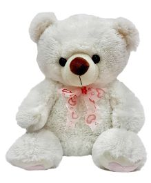 Soft Buddies Teddy Bear Soft Toy White - Height 24 Inches