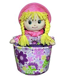 Soft Buddies Veronica Doll Utility Holder Multicolour - Height 10 Inch