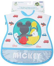 Disney International Mickey Mouse Tie Up Bib - Assorted