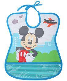 Disney International Mickey Mouse Tie Up Bib - Assorted