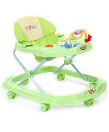 Musical Baby Walker Duck Design - Green And White