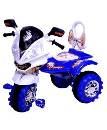 Cosmos Hayabusa Tricycle - White And Blue