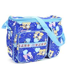 Duck Mother Bag Baby Animal Print - Blue