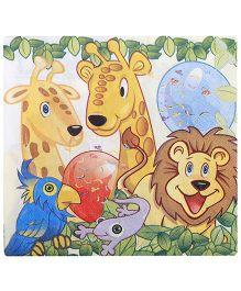 Birthdays & Parties Napkins Animals Theme - 10 Pieces