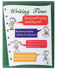 Blue Orange Publications Cursive Writing Book 4 - English