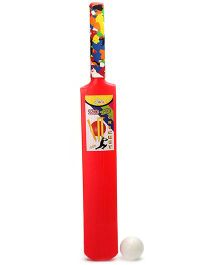 Luvely Bat And Ball Set No 4 - Red