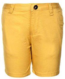Gini & Jony Bermuda Shorts - Yellow