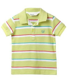 Beebay Stripper Polo T-Shirt - Green