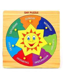 Prasima Toys Day Puzzle - Multicolour