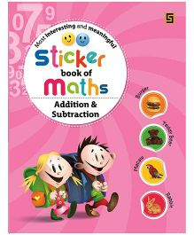 Sticker Book of Maths Addition And Subtraction - English