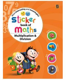 Sticker Book of Maths Multiplication - English