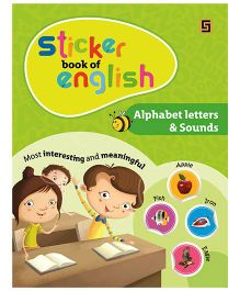 Sticker Book of English Alphabet Letter And Sounds - English