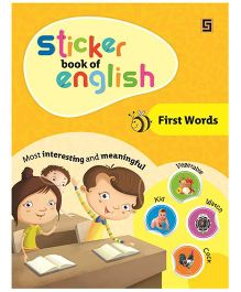 Sticker Book of English First Word - English