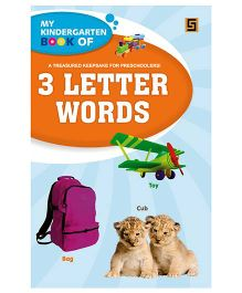 My Kindergarten Book of 3 Letter Words - English