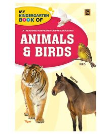 My Kindergarten Book of Animals And Birds - English