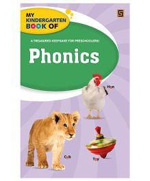 My Kindergarten Book of Phonics - English