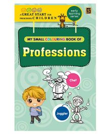 My First Small Coloring Book of Professions - English