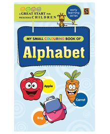 My First Small Coloring Book of Alphabets - English