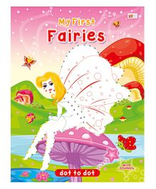 Art Factory Fairies Dot To Dot- Book With Sticker