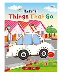 Art Factory Things That Go Dot To Dot- Book With Sticker