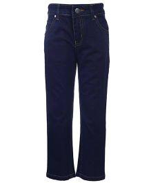 Reve Full Length Regular Jeans - Dark Blue