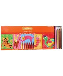 Apsara - Colorama 24 Wax Crayons