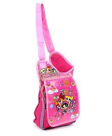 Powerpuff Girls Messenger Bag Pink - 10 Inches