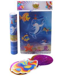 Birthday Party Accessory Kit Underwater Themed