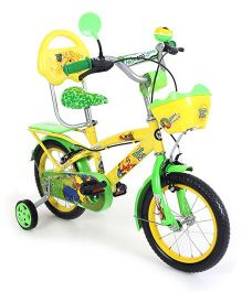 Hero Cycles Winnie The Pooh Bicycle - Yellow Green