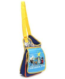 Johnny Bravo Sling Bag Blue - 12 Inches