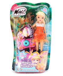 Winx Funskool Magic Flowers Stella Doll