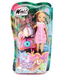 Winx Funskool Magic Flowers Flora Doll