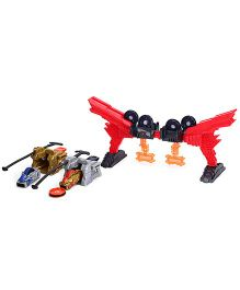 Takara Tomy Funskool Bey Bey Raiderz Shogun Fire Gate Battle Set