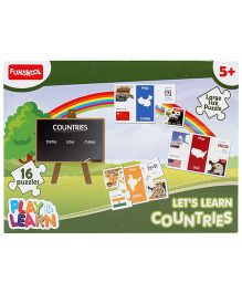 Funskool Lets Learn Countries Puzzle