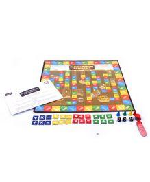 Funskool Plus Minus Cross Board Game