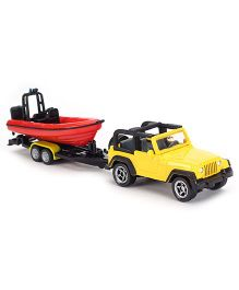 Siku Funskool Jeep With Boat