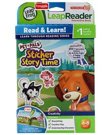 Leap Frog LeapReader Interactive Book - Pet Pals Sticker Story Time