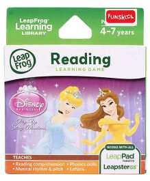 Leap Frog Disney Princess Pop-Up Story Adventures Learning Game