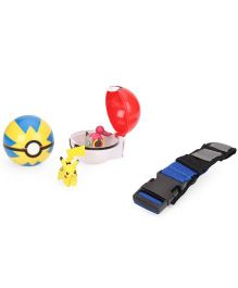Funskool Pokemon Clip N Carry Poke Ball Belt - Multicolour
