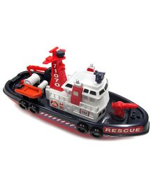 Baby Steps City Rescue Harbour Boat- Multi Colour