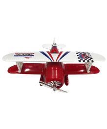 Baby Steps Die Cast Metal Classic Wing Plane -Red
