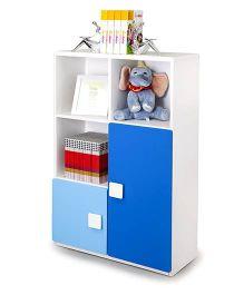 Alex Daisy Three Layer Bookcase - Blue