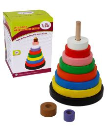 Eduedge Lets Solve Grade N Stack Circles - 9 Pieces